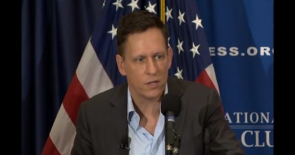 Peter Thiel Slams The Elites In Historic Speech: 'What Trump Represents Isn't Crazy And It's Not Going Away' (VIDEO) – American Lookout