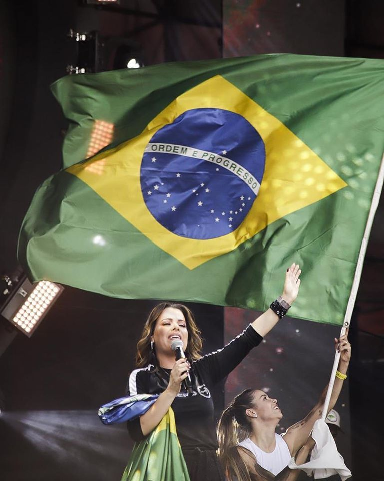 The Send Brasil Diante Do Trono Ana Paula Valadao Estadio