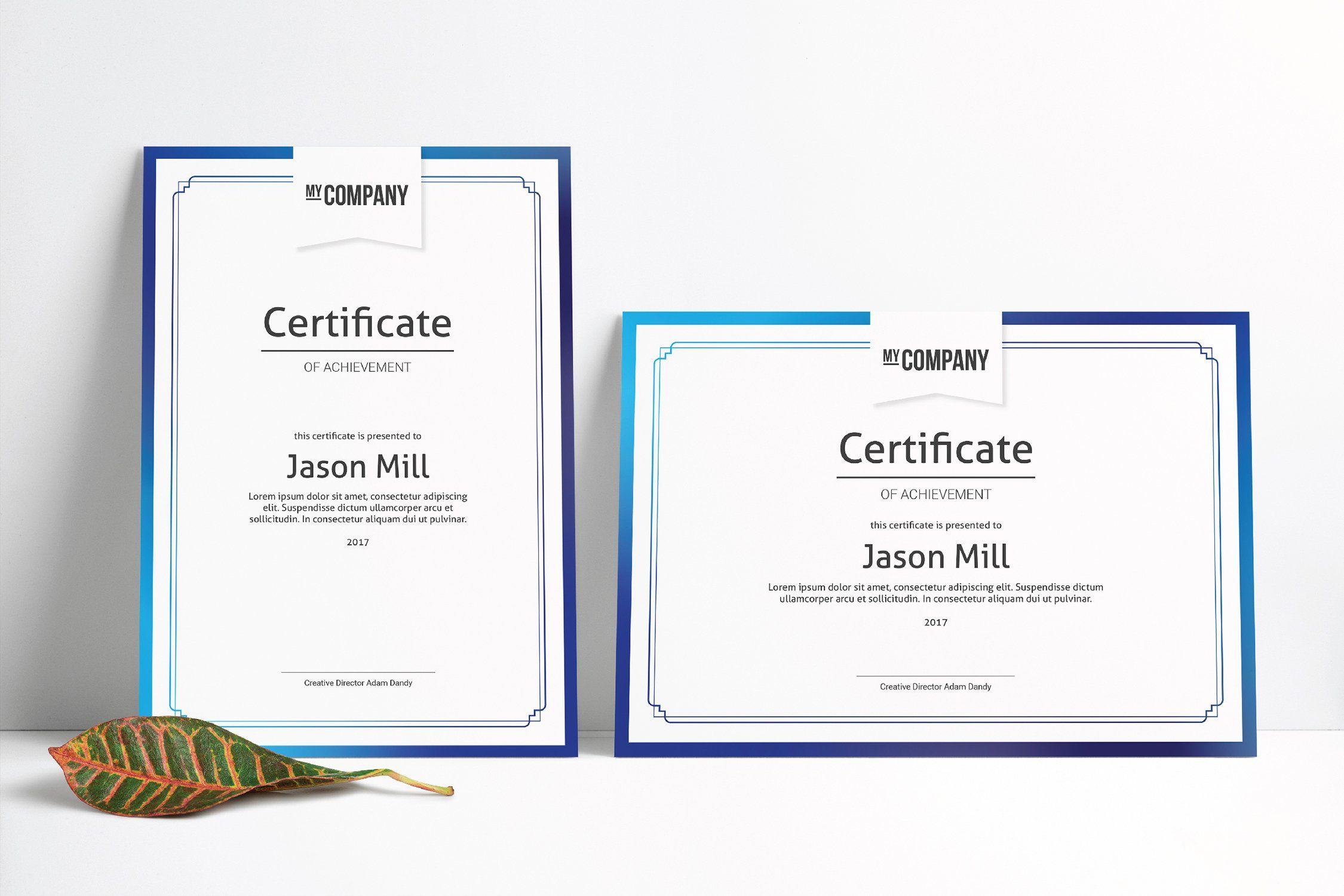 Certificate Template #Ad , #Affiliate, #add#ready