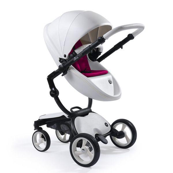 Coche de paseo mima xari flair snow white coches de paseo 2 piezas capazo y silla el for Silla de bebe para coche grupo 0