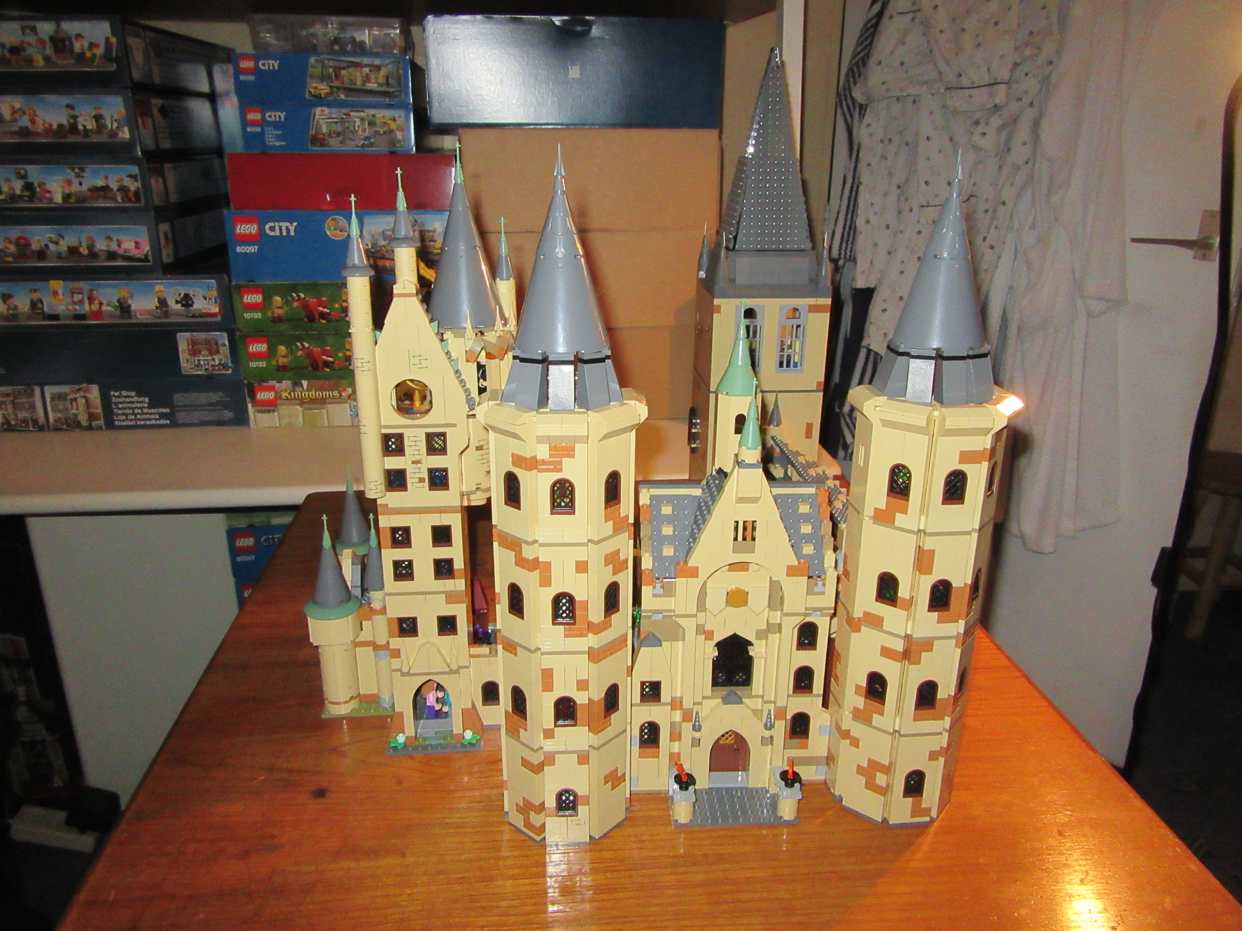Lego Harry Potter Bell Tower Lego Harry Potter Lego Hogwarts