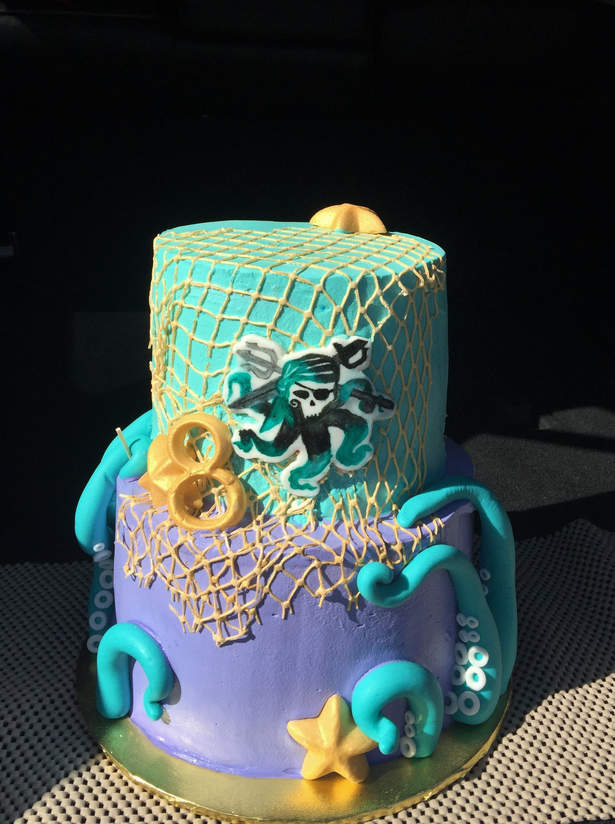 Uma Birthday Cake From Disney S Ry Birthday Party Ideas In