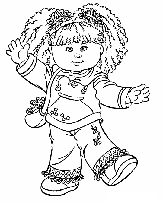 Cabbage Patch Kids Wear Sweaters And Carry Bags | malebog | Pinterest