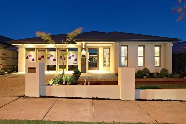 Likeness Of Single Storey Home Designs Which Are Flooded With Luxury Simple House Design House Front Storey Homes