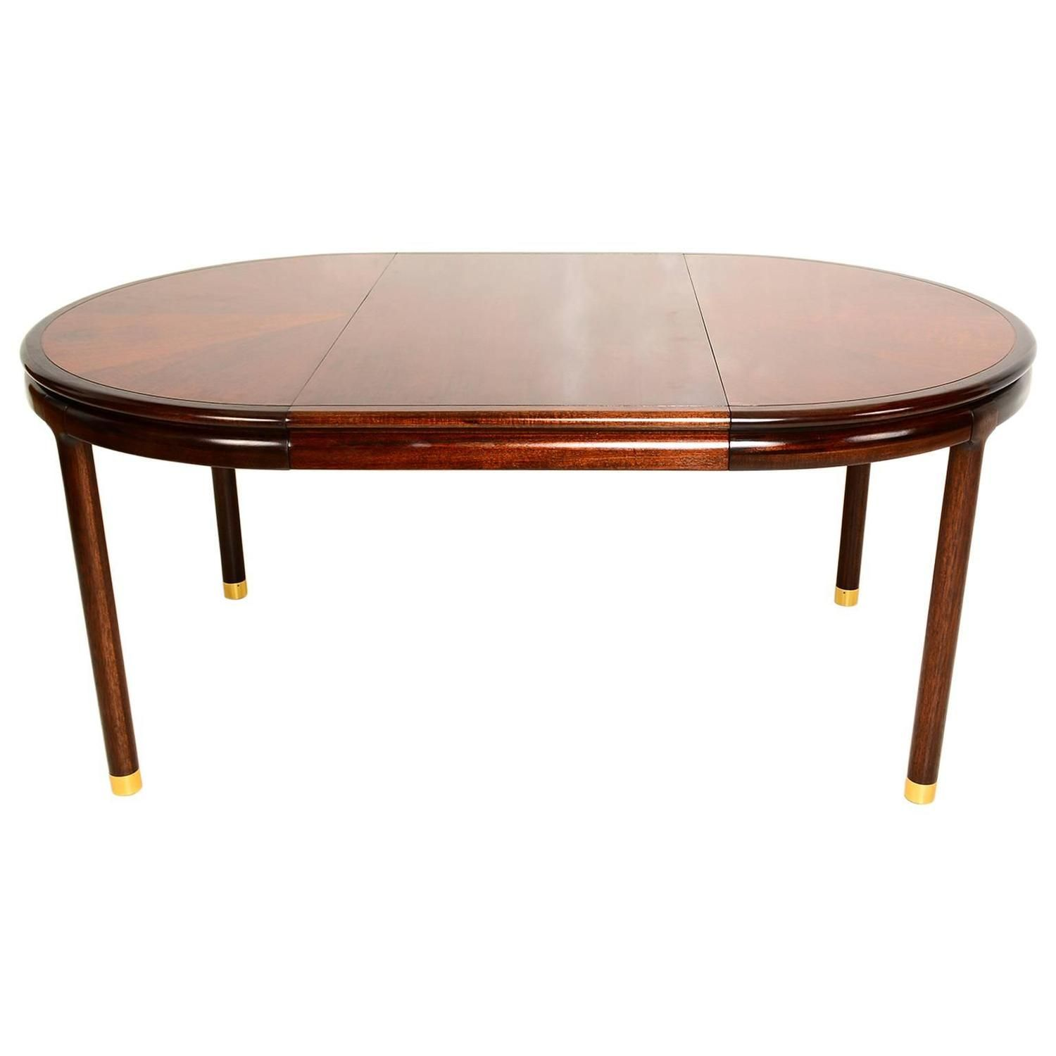 Walnut Oval Dining Table From A Unique Collection Of Antique And