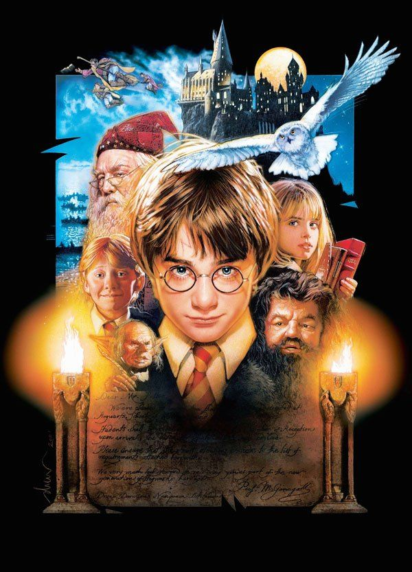 101 Textless Movie Posters Harry Potter Resim