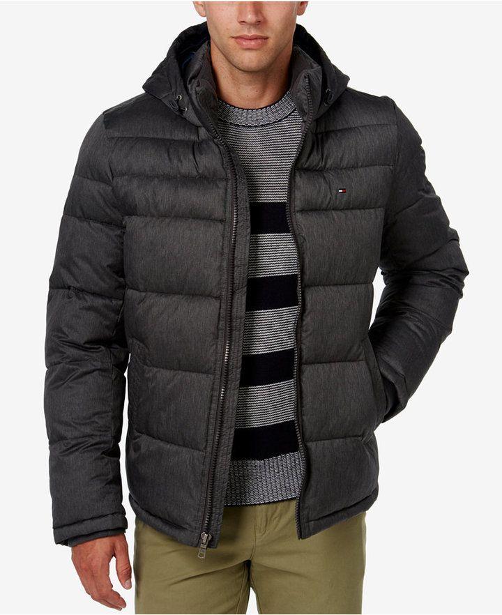 e6f85943af7 Tommy Hilfiger Men's Classic Hooded Puffer Jacket | Products | Men's ...