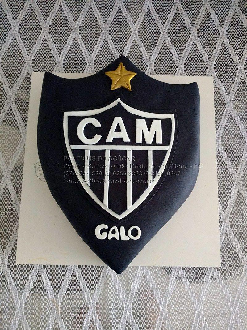 34da18ca7f Bolo Decorado Atlético Mineiro para o Gabriel e a Melina!