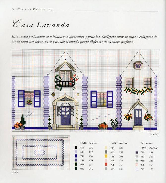 Gallery.ru / Фото #1 - 3-D Cross Stitch-More Than 25 Original Designs - Orlanda