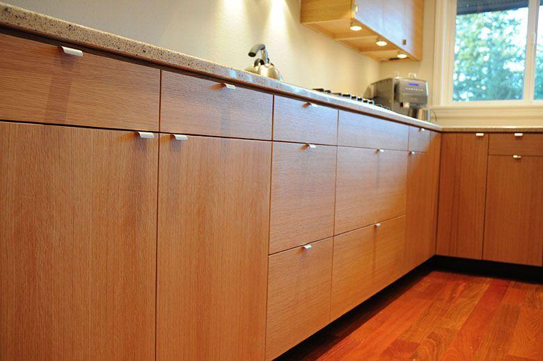 Rift Swan White Oak Kitchen Seattle   White oak kitchen ...