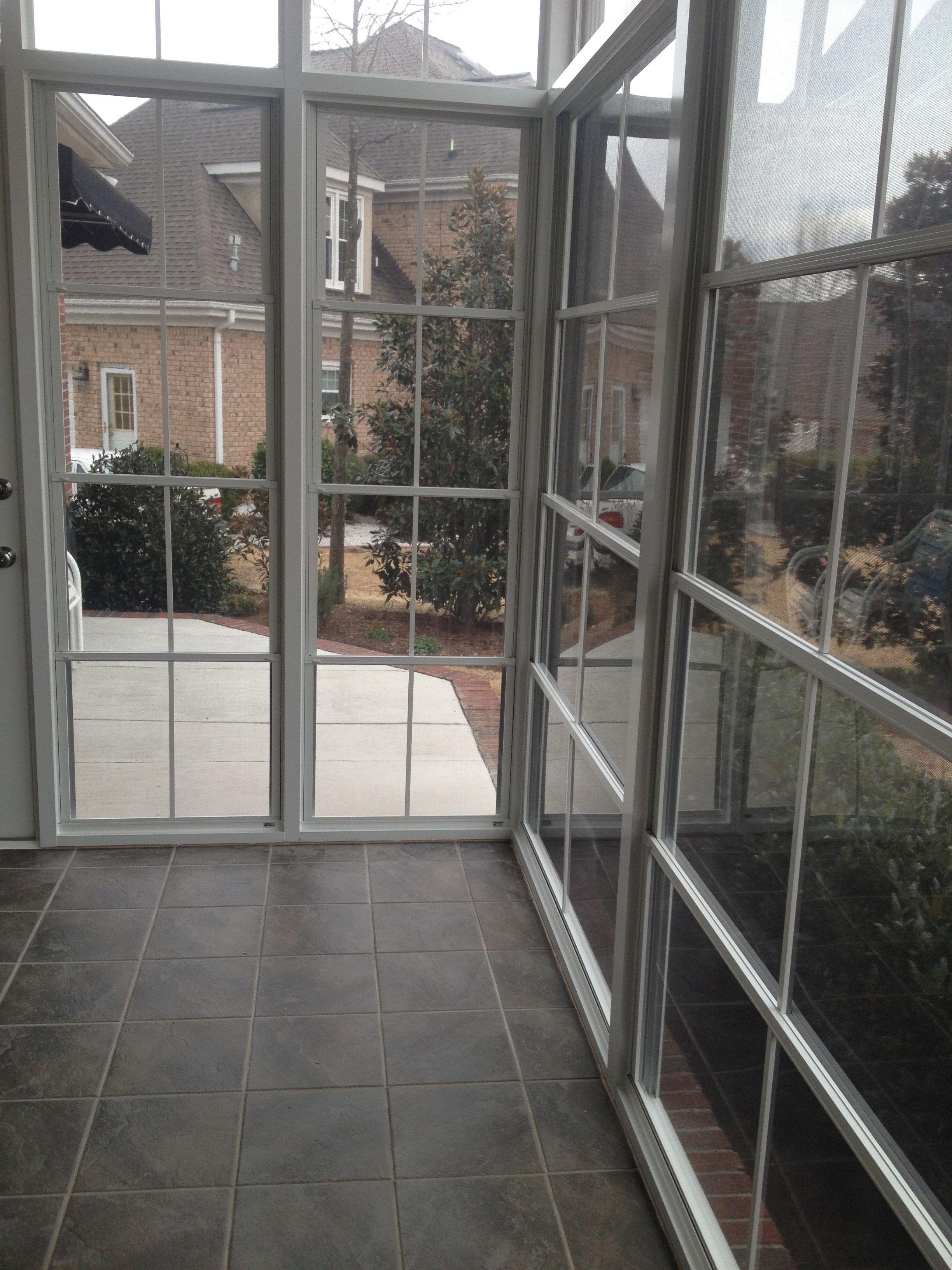 Simple Screened Porch Designs