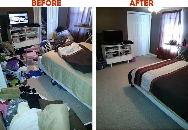 Organize Bedroom Area Bedroom Makeover
