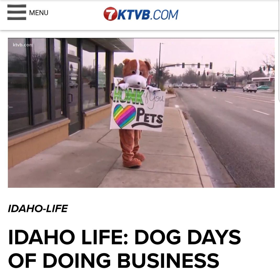 Local news channel 7 KTVB Boise, Idaho did a segment on