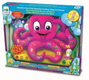 Este increíble juego ayuda a los pequeñines a contar del 1 al 20 y al mismo tiempo tiene melodiosa canciones