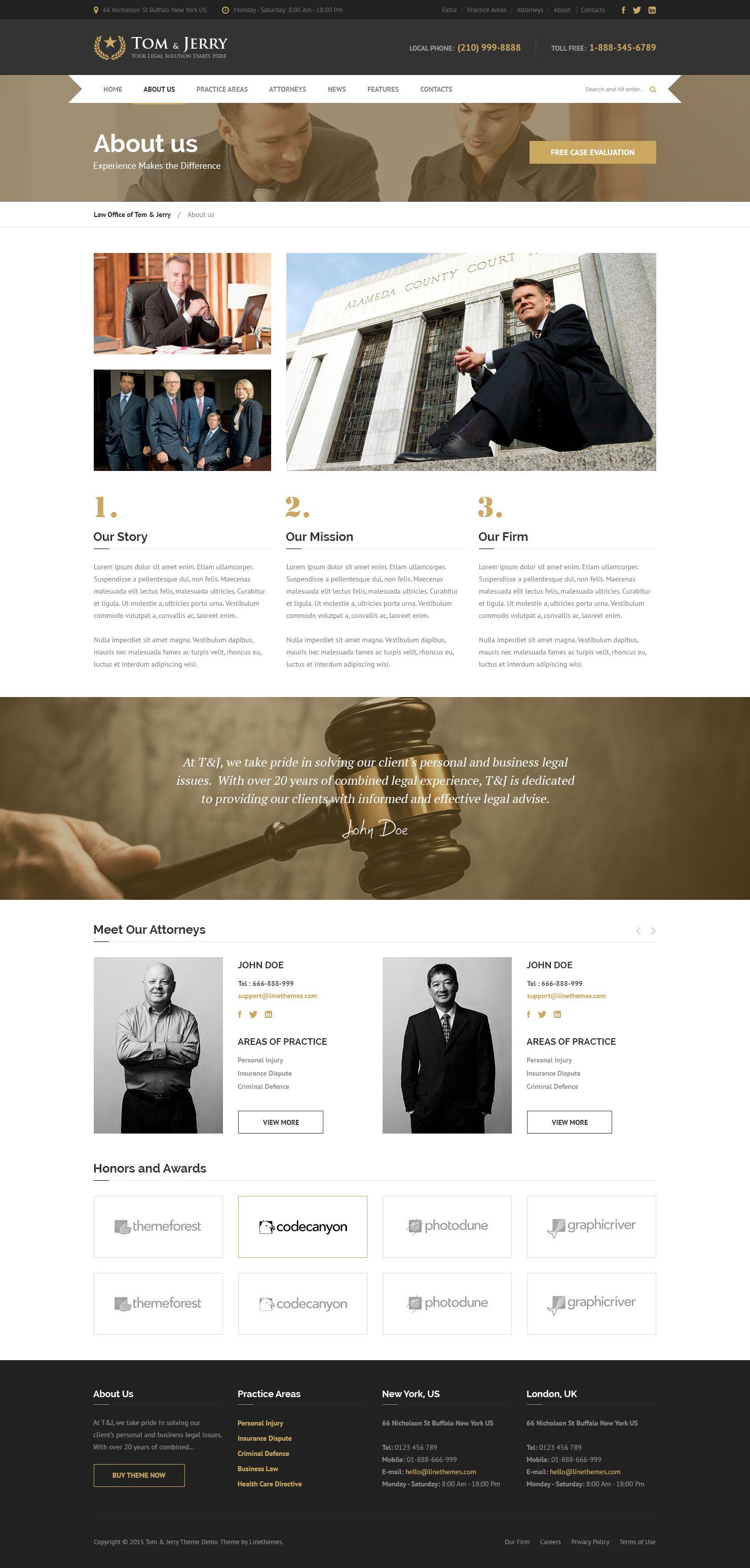 tom jerry a wordpress law and business theme wordpress
