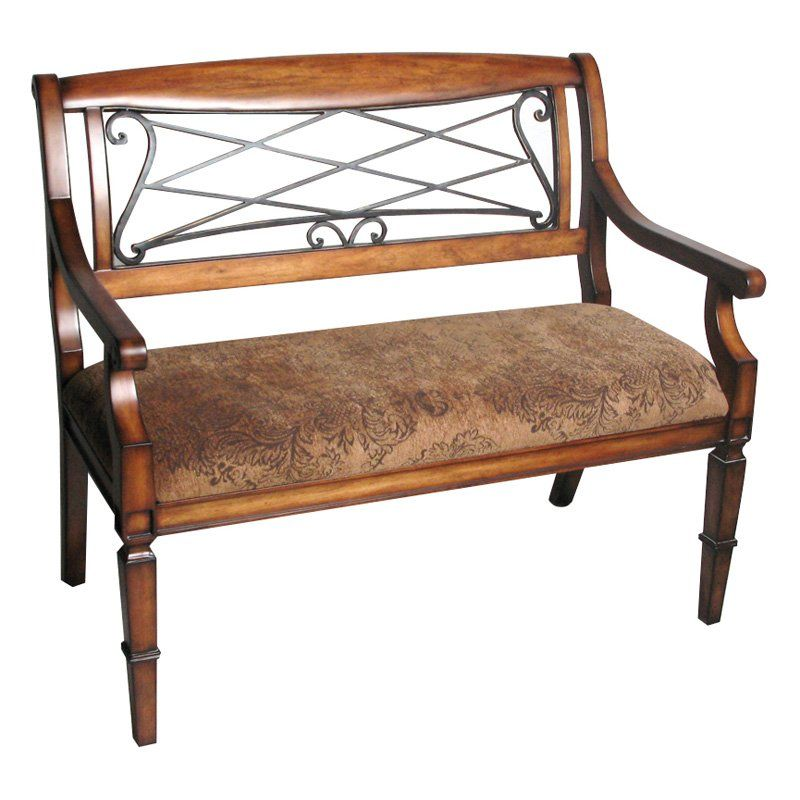 Have to have it. Safavieh Gramercy Bench - Antique Cherry - $422.99 @hayneedle
