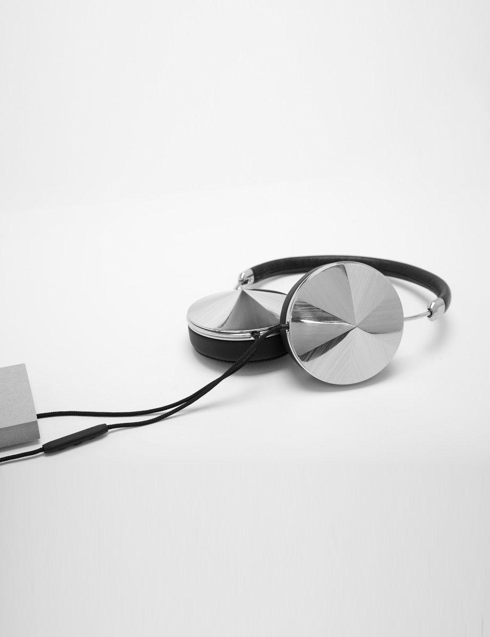 Black Leather Taylor Headphones | Frends | Avenue32