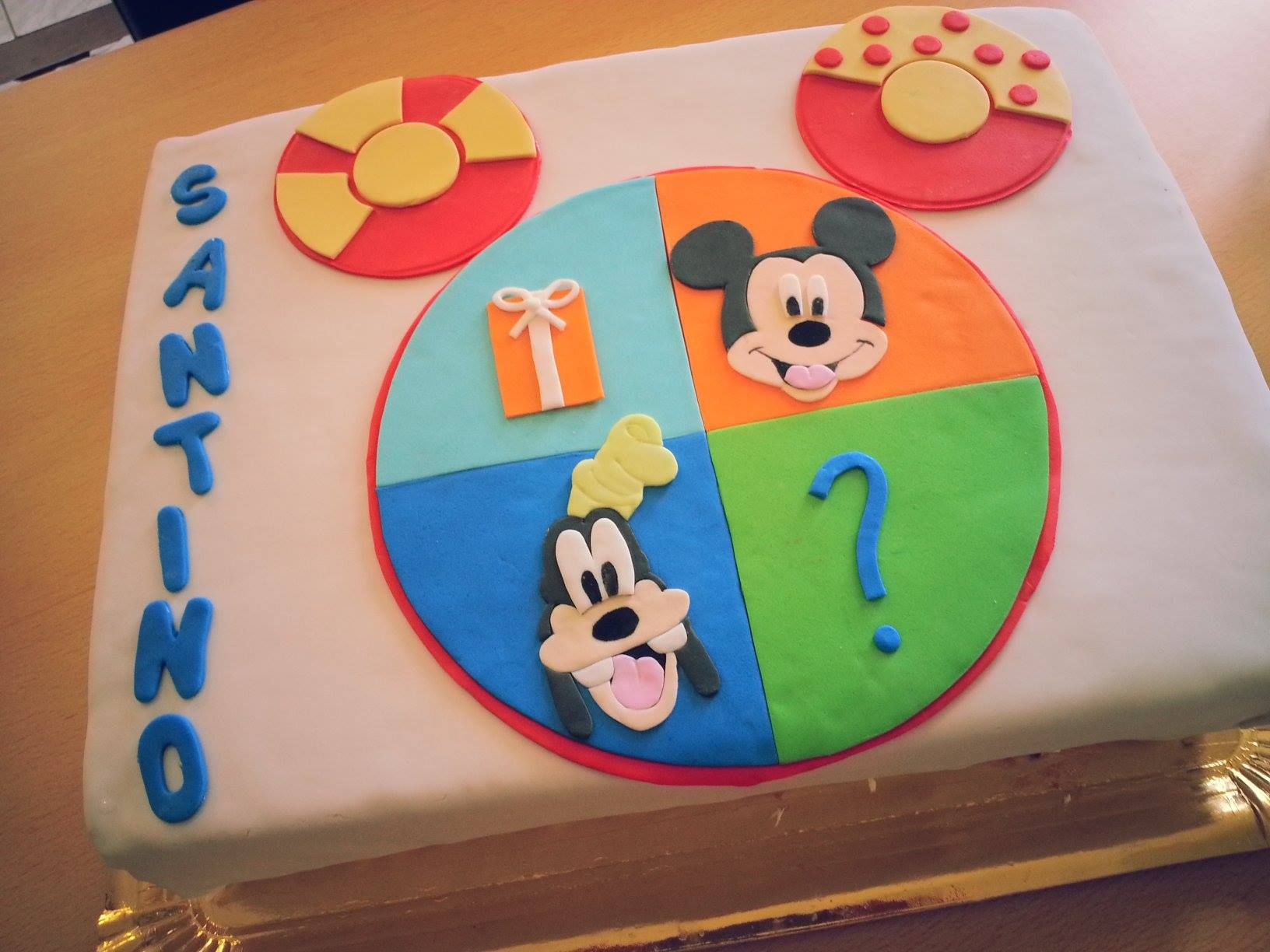 torta mickey mouse O toodles