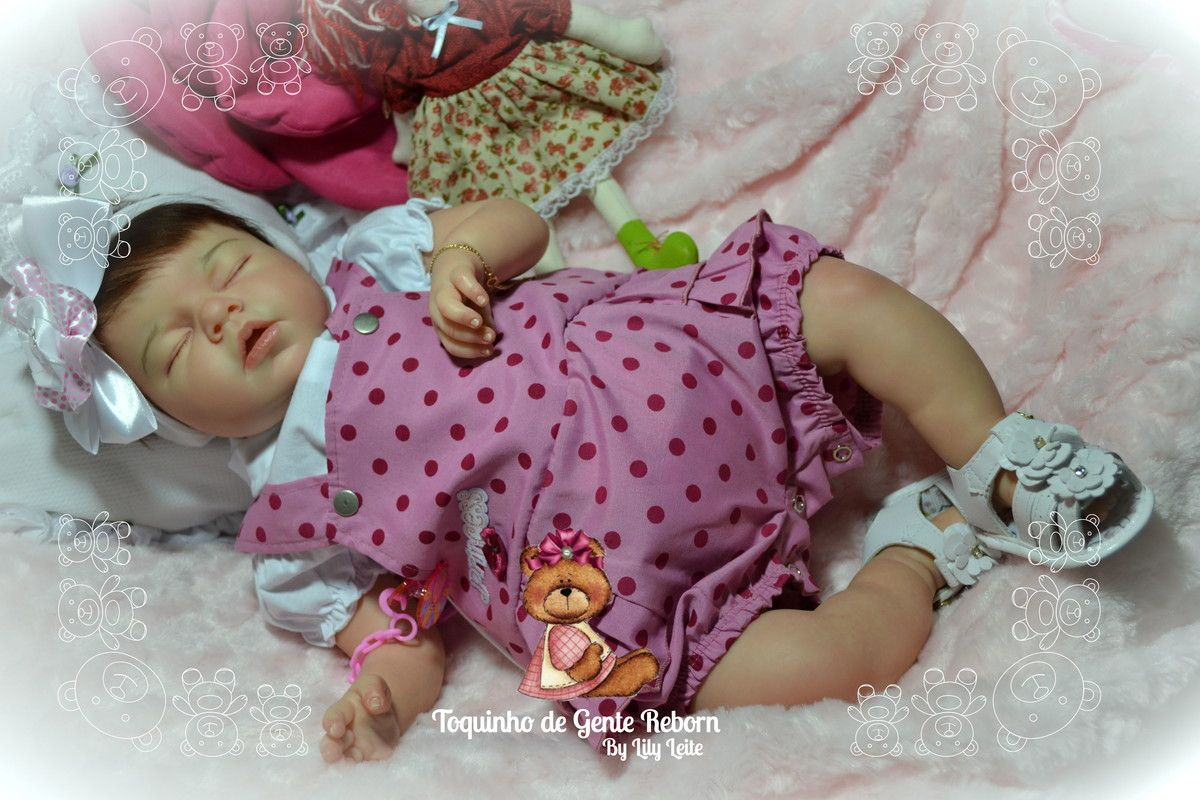 Bebe Noah Fernanda Adotada | TOQUINHO DE GENTE REBORN | Elo7