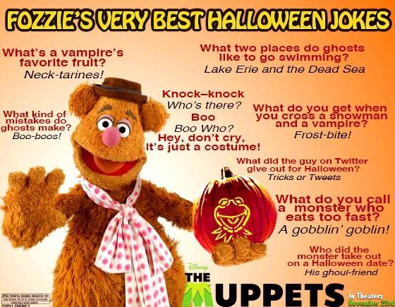 Bear Fozzie Funny Halloween Jokes Has Released Fozzie Bears - thanksgiving knock knock jokes kid friendly