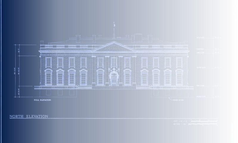 White house blueprint design illustration pinterest house white house blueprint malvernweather Images
