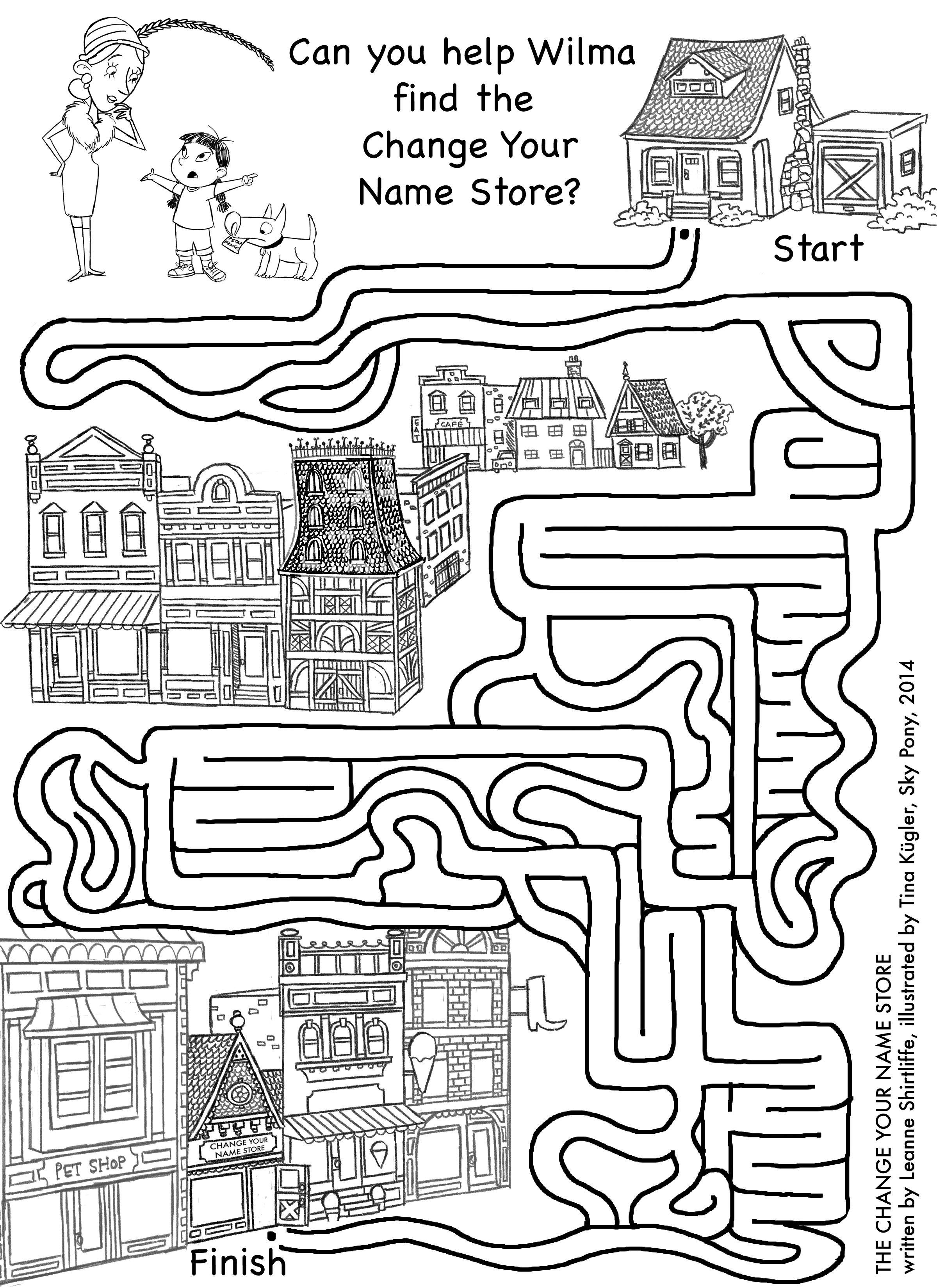 Maze Printable Worksheets 26
