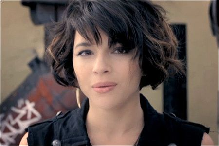 Love her hair! music video: \
