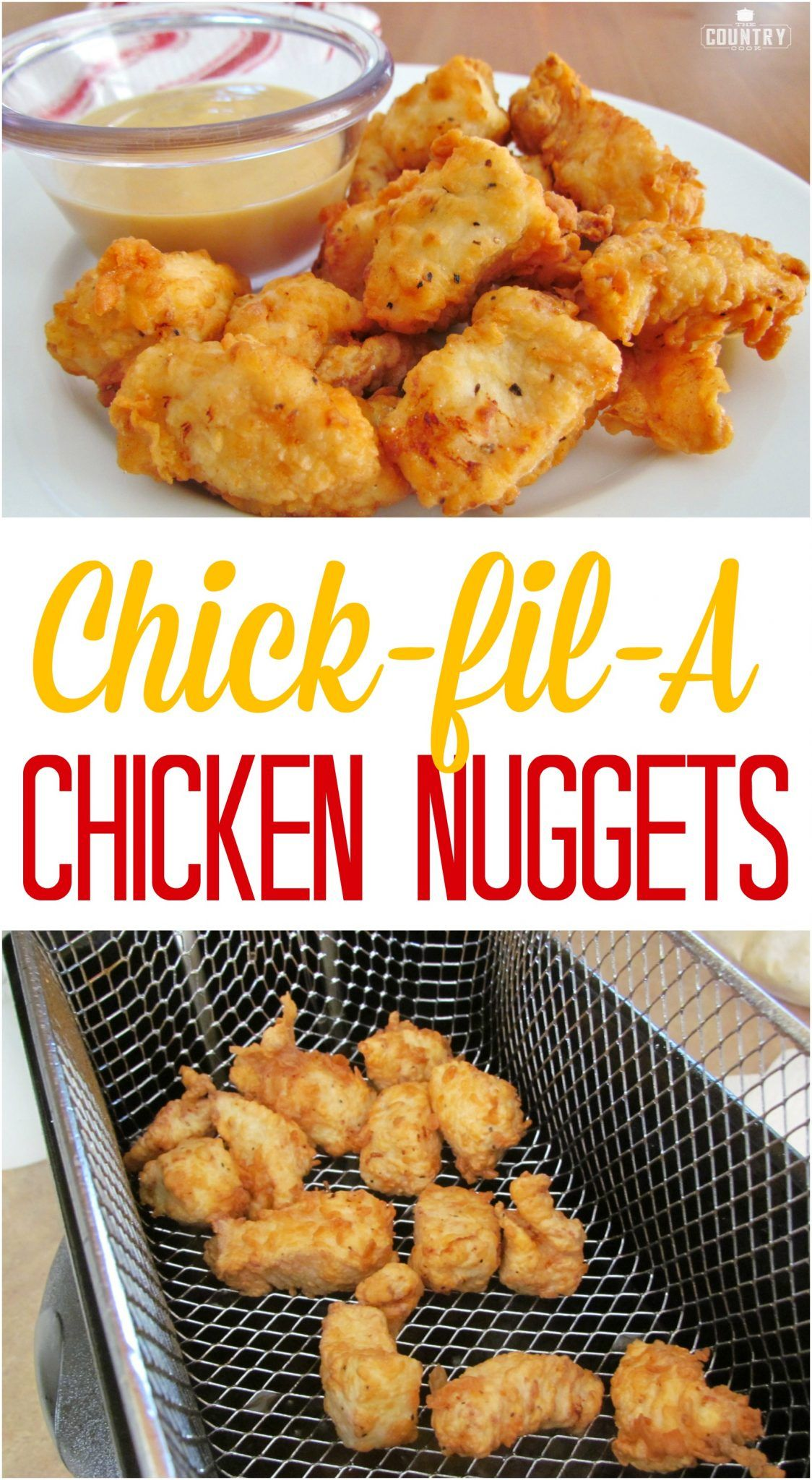 Copycat chick fil a chicken nuggets recipe from the country cook copycat chick fil a chicken nuggets recipe from the country cook finger food forumfinder Choice Image