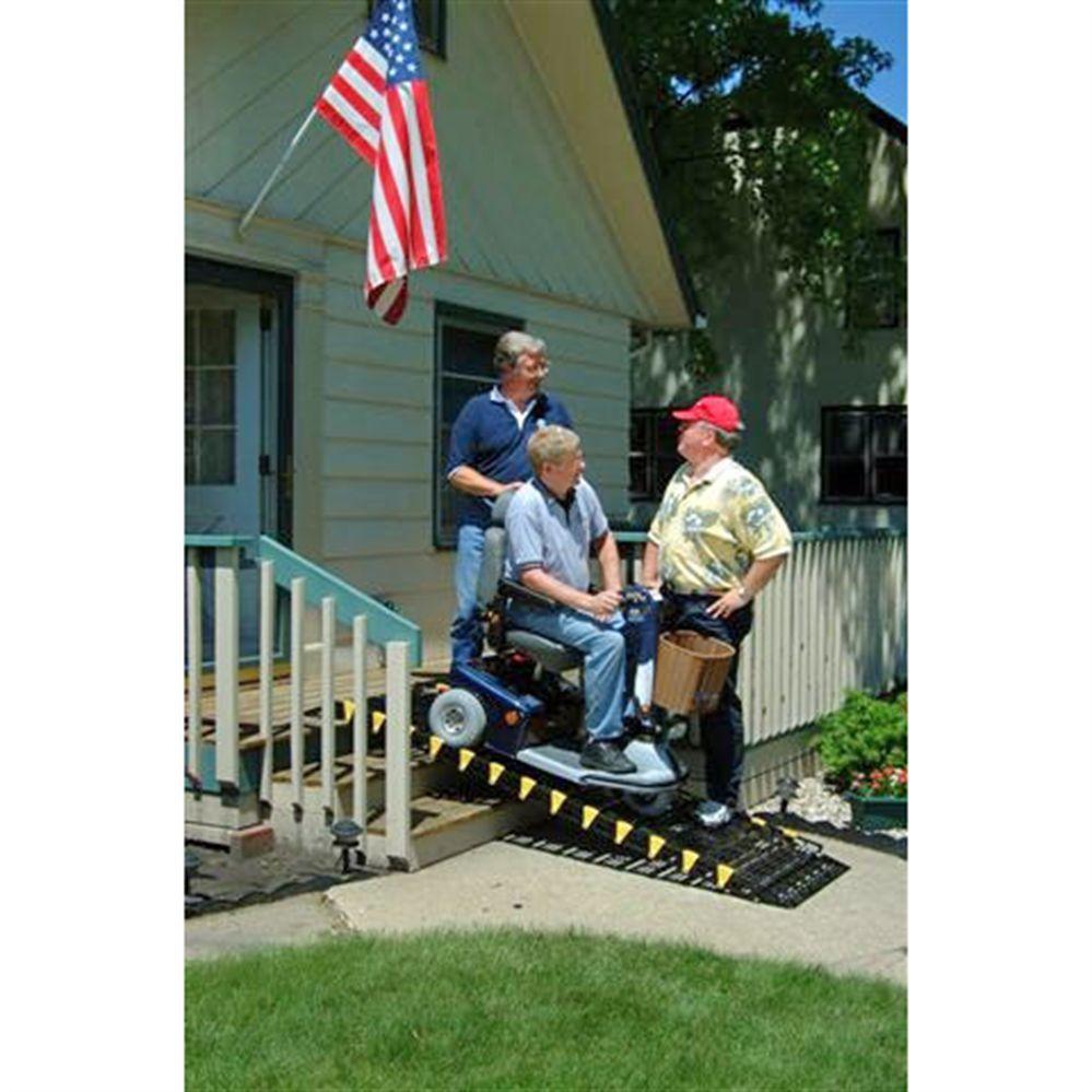RollARamp RollUp Wheelchair Ramps Slip, fall