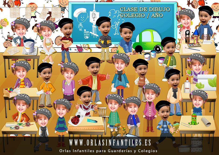 Orlas Colegios Infantiles Pelautscom Orla Infantil Graduacion Infantil Manualidades Infantiles
