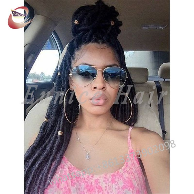 Faux Locs African American Crochet Braiding Hair Extensions