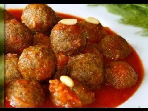 طريقة عمل كفتة داوود باشا Egyptian Food Lebanon Food Middle Eastern Recipes