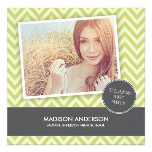 SO SWEET | CLASS OF 2012 GRADUATION INVITATION