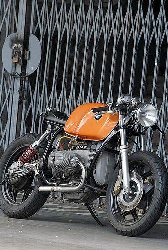Moto Cafe Racer Deux Places Bmw