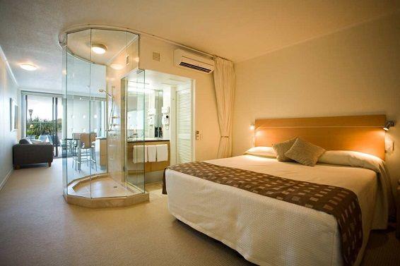 Ebeveyn Banyo Dekorasyonu Small Master Bedroom Open Concept Bathroom Bedroom Design