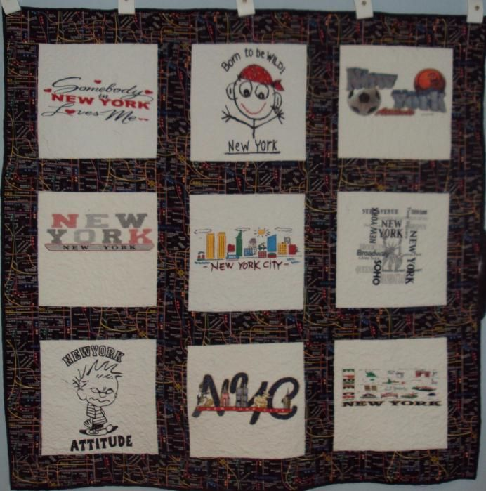 Children's NYC T-shirt Quilt | Shirt quilts, Patchwork and Fabrics : quilt nyc - Adamdwight.com