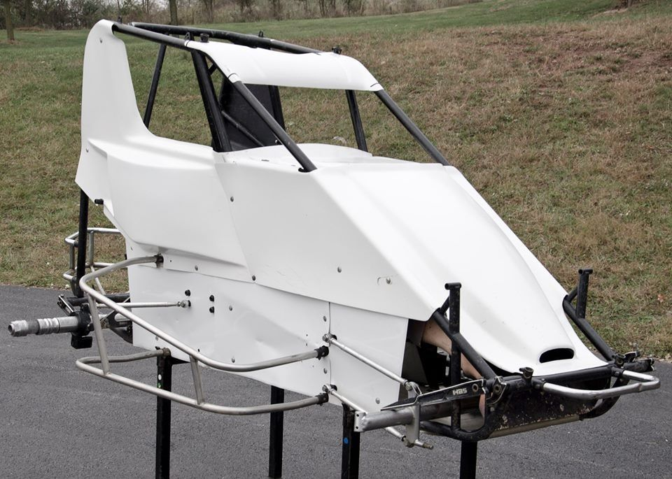 Hyper chassis Sprint cars, Because race car, Dirt racing