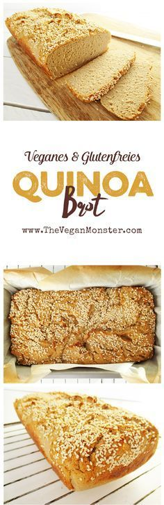 Veganes Glutenfreies Hausgemachtes Quinoa Brot Ohne Öl Rezept