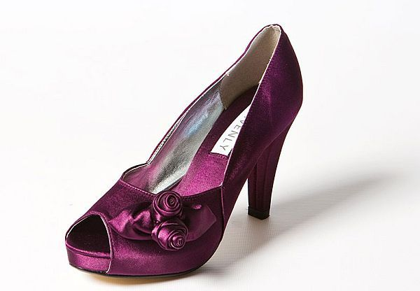 Marvelous Aubergine Shoes Wedding   Google Search