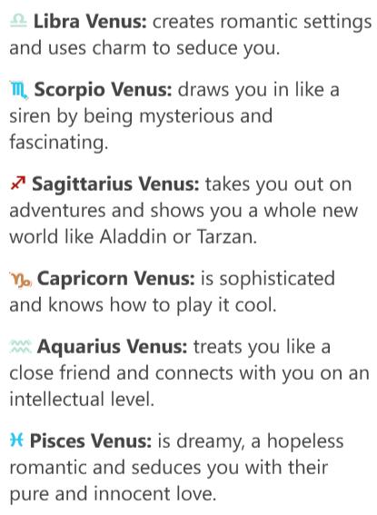 venus sign compatibility leo