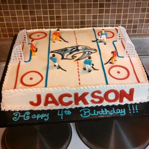 Nashville Predators Hockey Cake Phat N Sassy Sweets