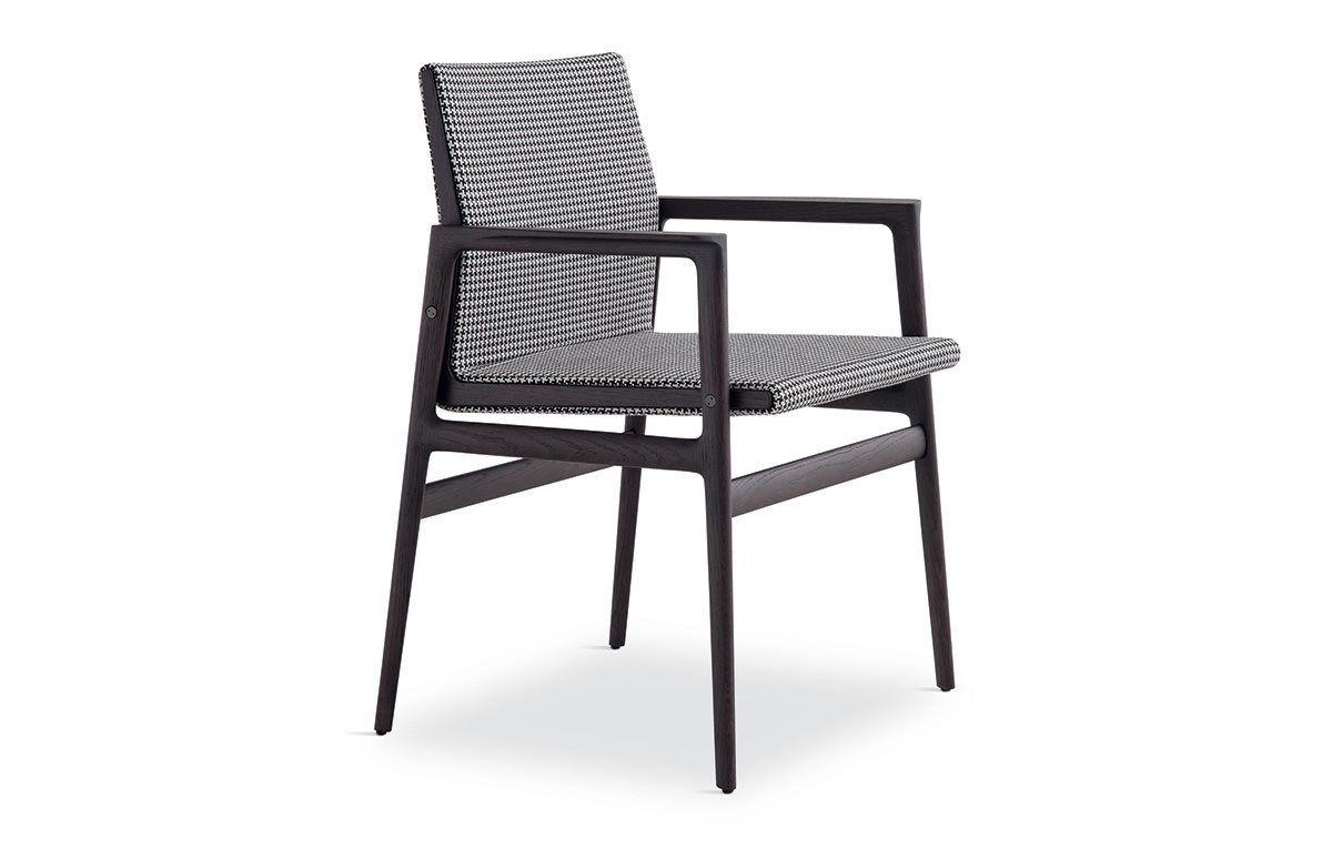 Sedia A Sdraio Tessuto : Ipanema chair jean marie massaud spessart oak and quarzo