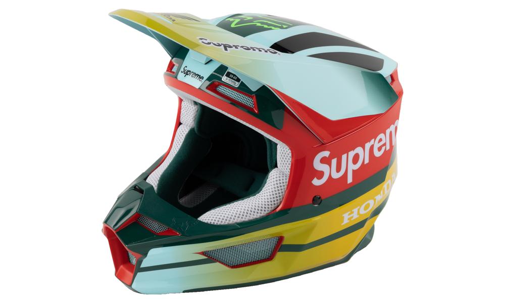 Honda Fox Racing V1 Helmet SU7982 Moss