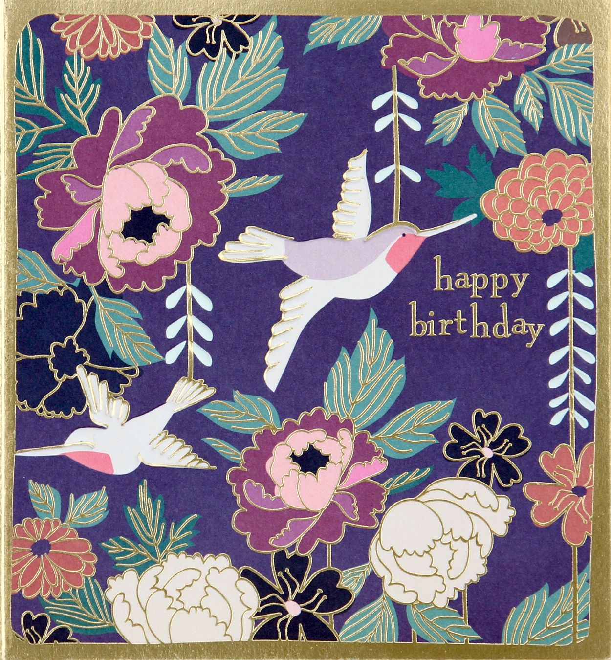 This Elegantly Detailed Kimono Happy Birthday Card Had A