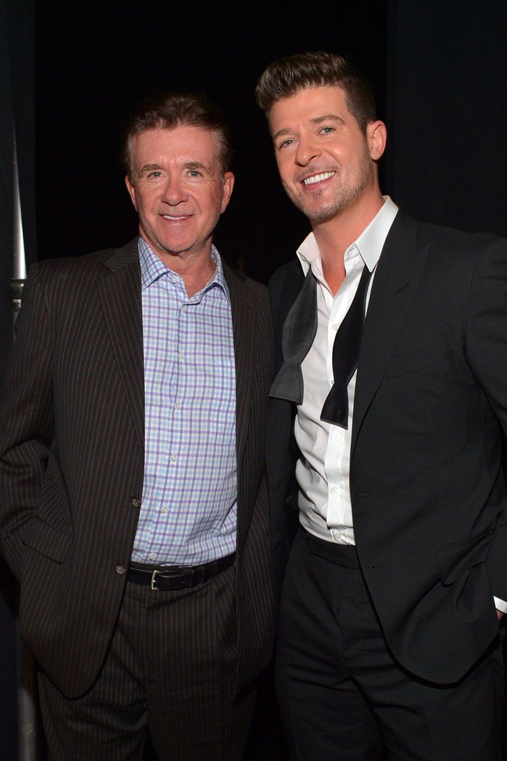 """Robin Thicke Breaks His Silence on Dad Alan's Death: He Was """"The Greatest Man I Ever Met"""""""