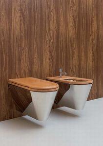 stainless steel wall-hung toilet sanitari john & mary in acciaio ... - Arredo Bagno Savigliano