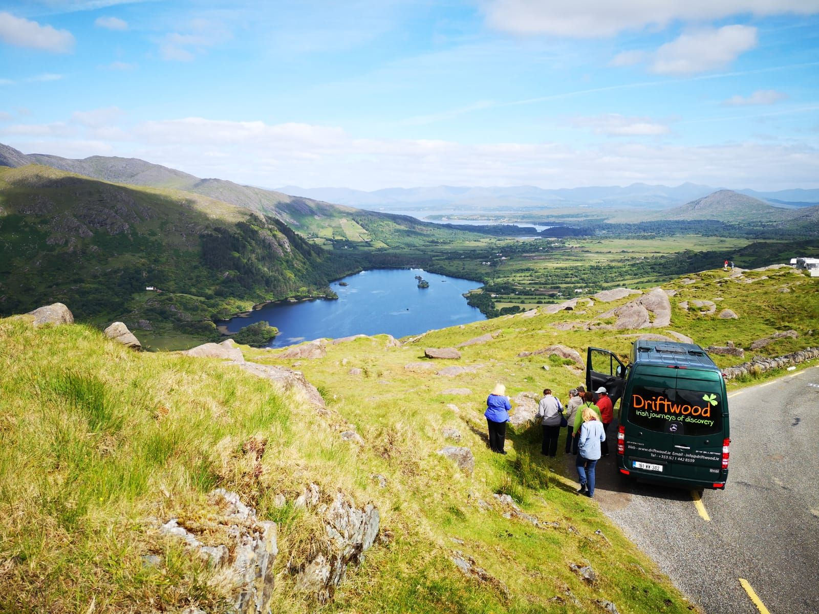 500 shades of green on the healy pass the beara
