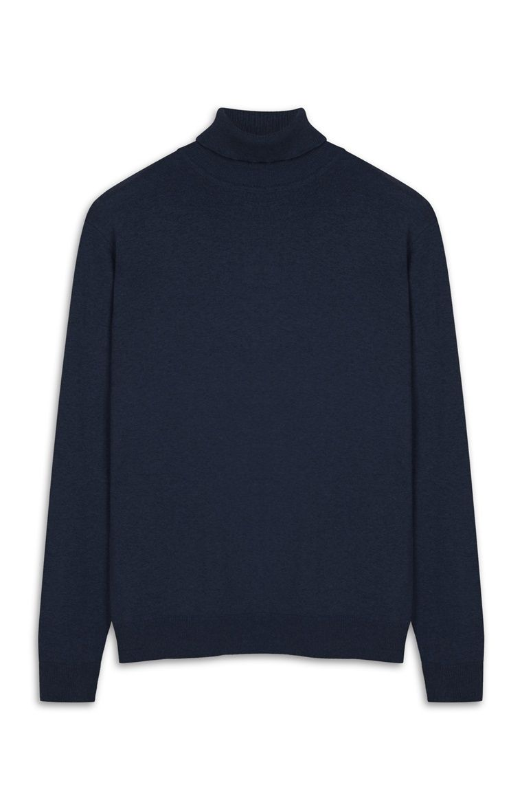 a80010b89 Primark - Navy Roll Neck Jumper