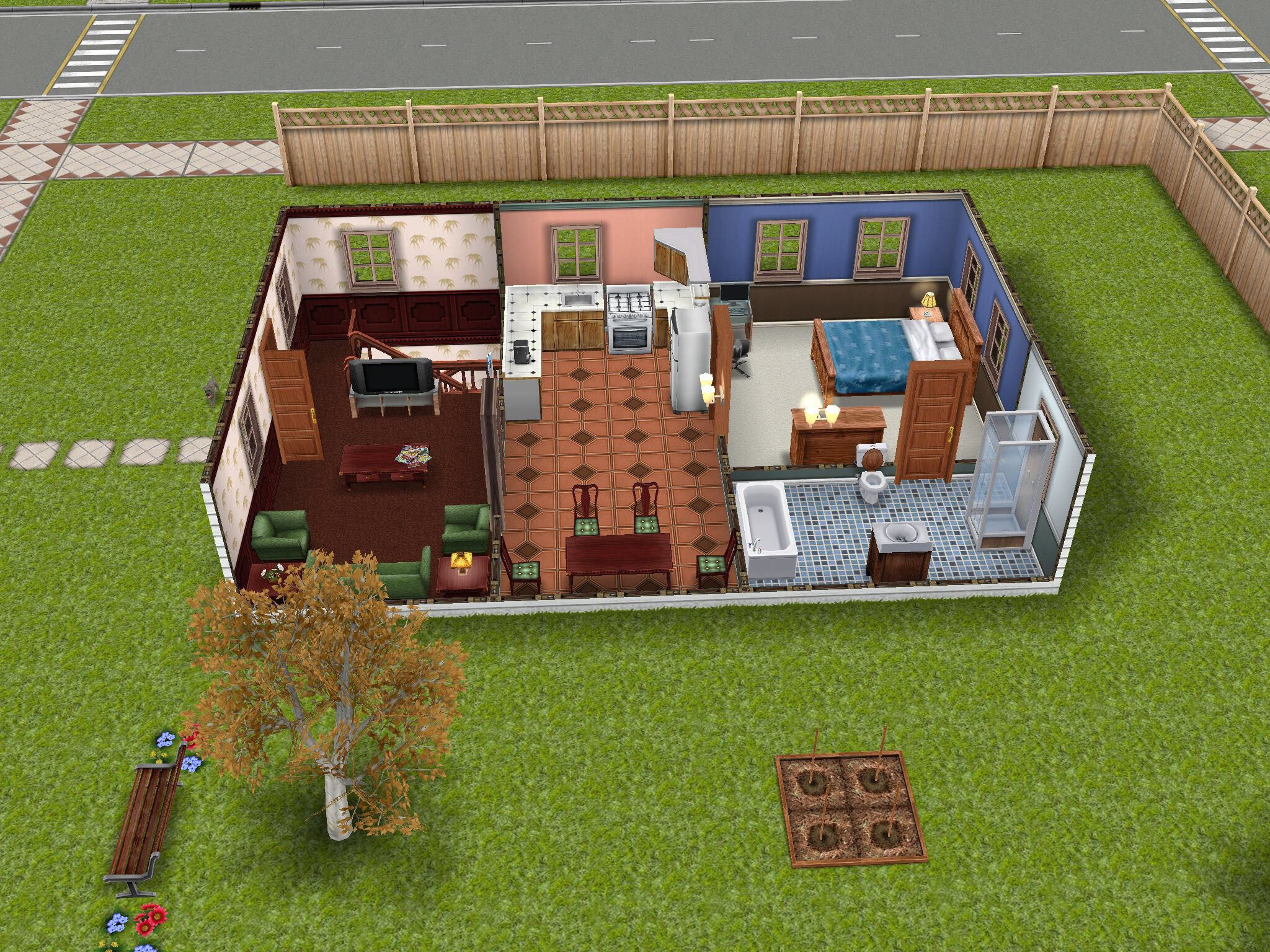 Sims freeplay house  theme inspired by one bedroom home. House 65  Harry Potters magic castle  basement  sims  simsfreeplay