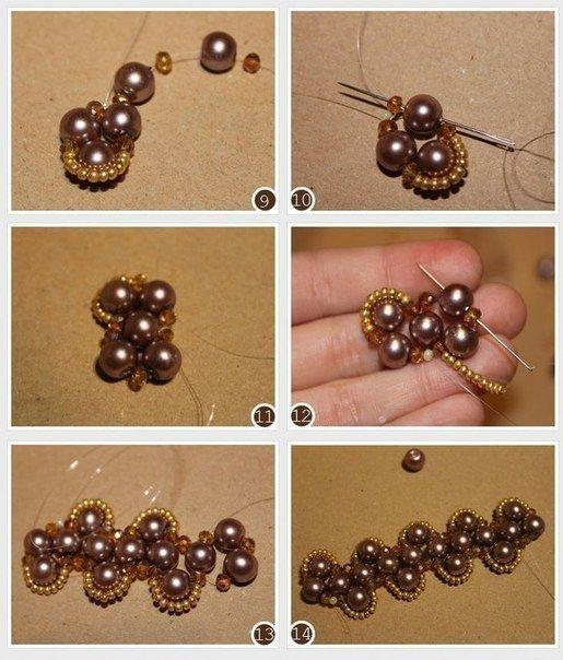 схемы плетения браслетов из бисера и бусин Beaded Jewelry